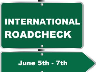 CVSA International Roadcheck Starting June 5th - 7th