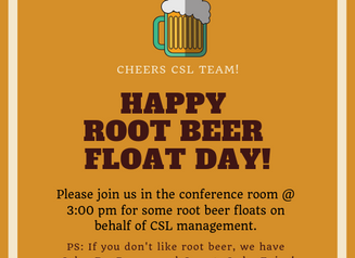 Celebrating Root Beer Float Day