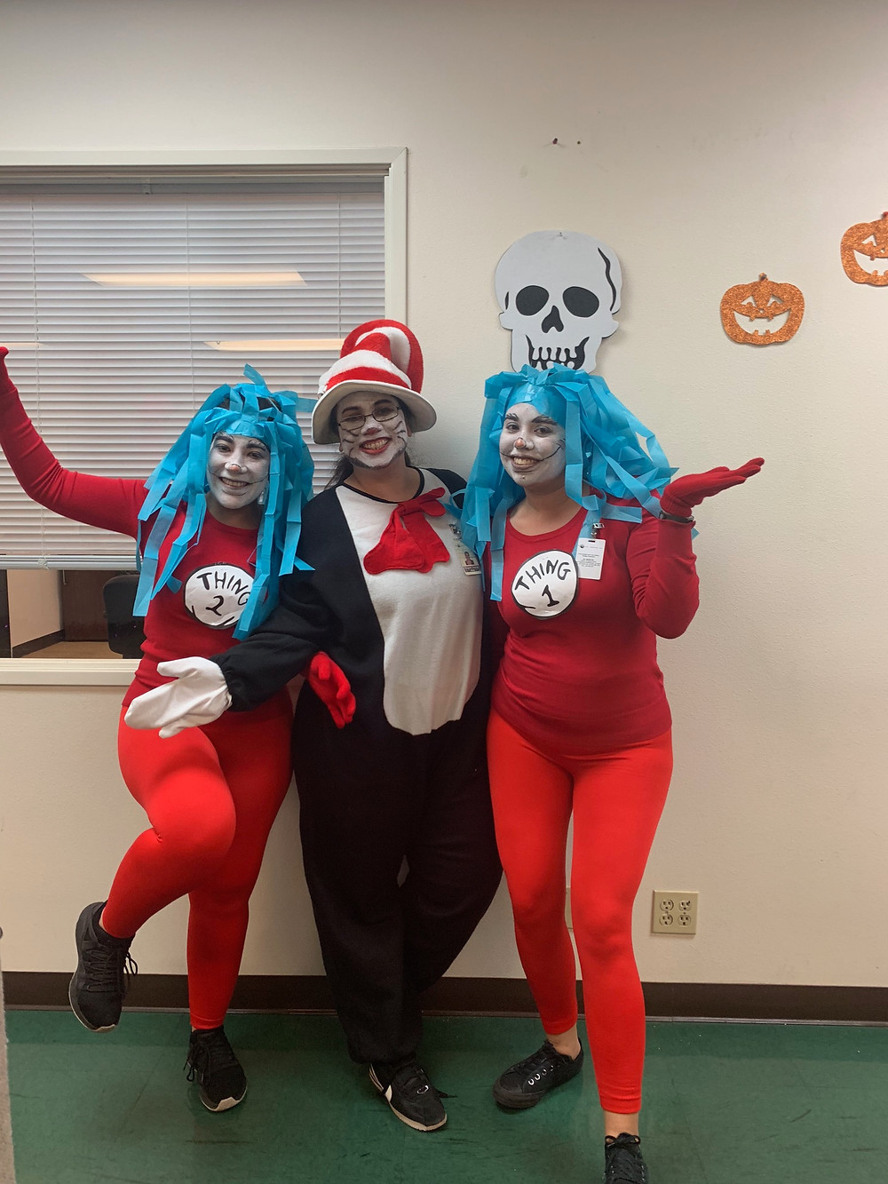 Sales Department - Cat in the Hat and Thing 1 & Thing 2