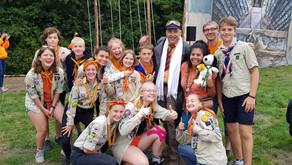 Jamborette in Holland