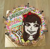 中川翔子さん DAMチャンネル卒業ケーキ