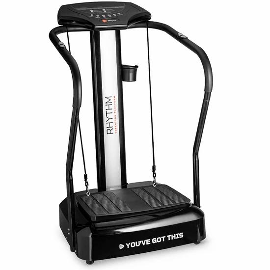 Vibration plate workout