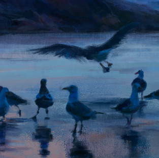 """""""Early morning surprise"""" (Detail)"""
