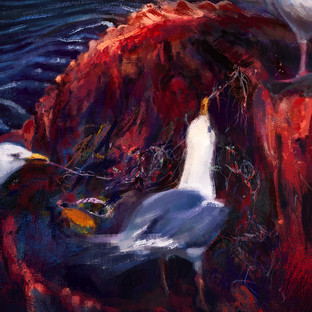 """""""Blood and plastic"""" (Detail)"""