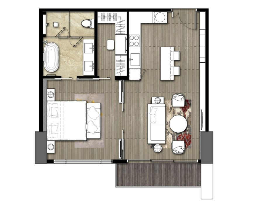 1 bed unit floor plan.JPG
