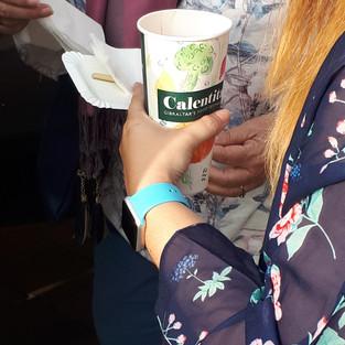 Cups designed and used for Calentita Festival 2018