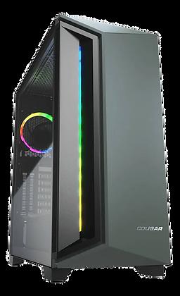 Gabinete ATX Cougar DarkBlader X7 Midnight Green