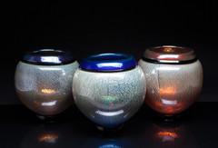 Koi Bowls (Plum, Cobalt, Apricot)