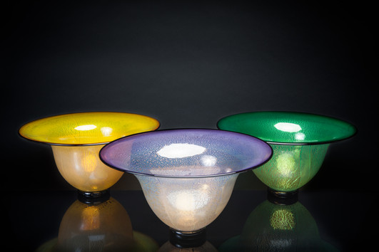 Bell Bowl (Lemon, Hyacinth, Emerald)