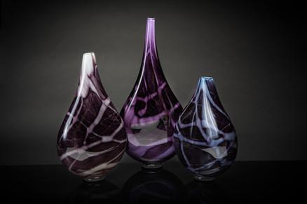 Vessels of Life White Lavender Aqua