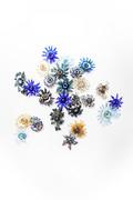 Finger Bowls (Brilliant Blue' Collection)