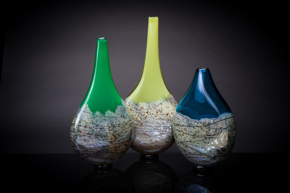 Vessels of Life (Emerald/Forest Mantis/Yellow Cobalt/Mint)