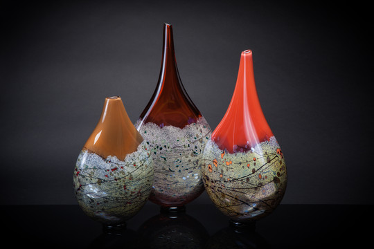 Vessels of Life (Chocolate/Chocolate Wine/Wine Salmon/Salmon)