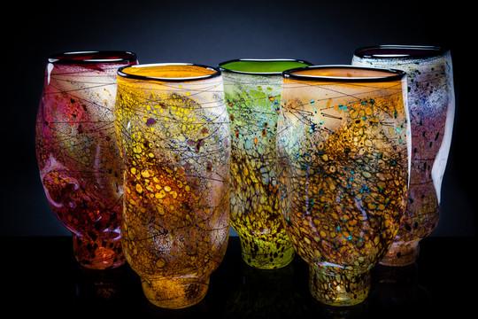 Organic Vessels (Cherry/Cherry Lemon/Purple Lime/Yellow Apricot/Mint Cobalt/Forest)