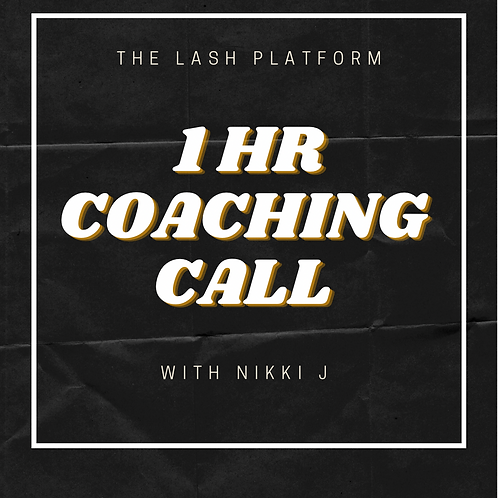 COACHING CALL - 1 HR