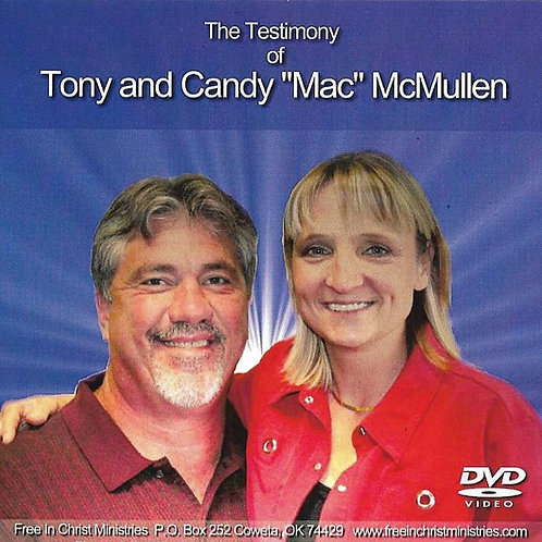Tony Mac Free In Christ Testimony DVD