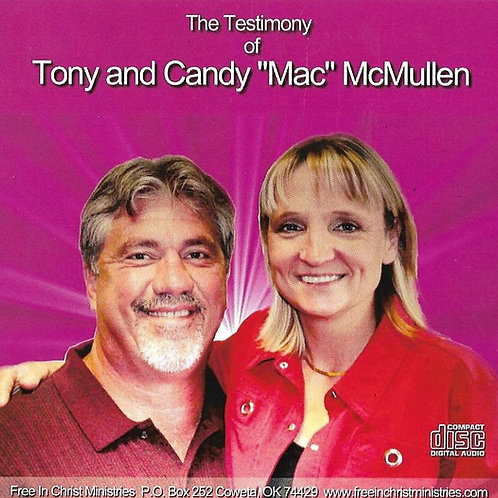 Tony Mac Free In Christ Testimony Audio CD