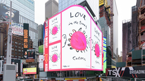 Messages for the City - Times Square Arts / Poster House / Print Magazine / For Freedoms