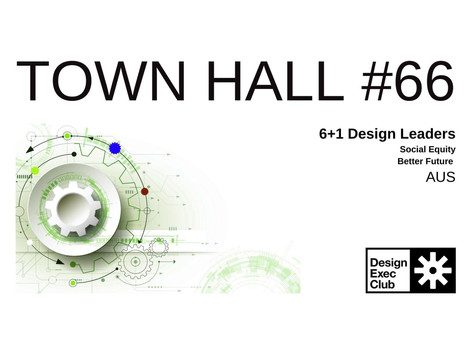 Town Hall #66 - Social Equity - AUS