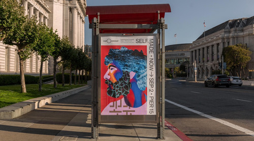 Exploratorium 'Self, Made' Exhibition Marketing Campaign - Exploratorium / COLLINS  | Social and Community-Oriented Design - Visual