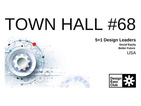 Town Hall #68 - Social Equity - USA