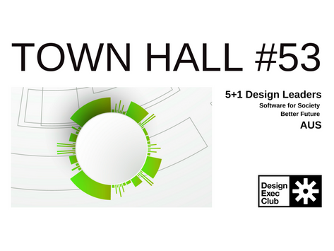 Town Hall #53 - Software for Society - AUS