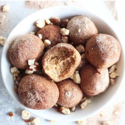 Cinnamon Doughnut Bliss Balls