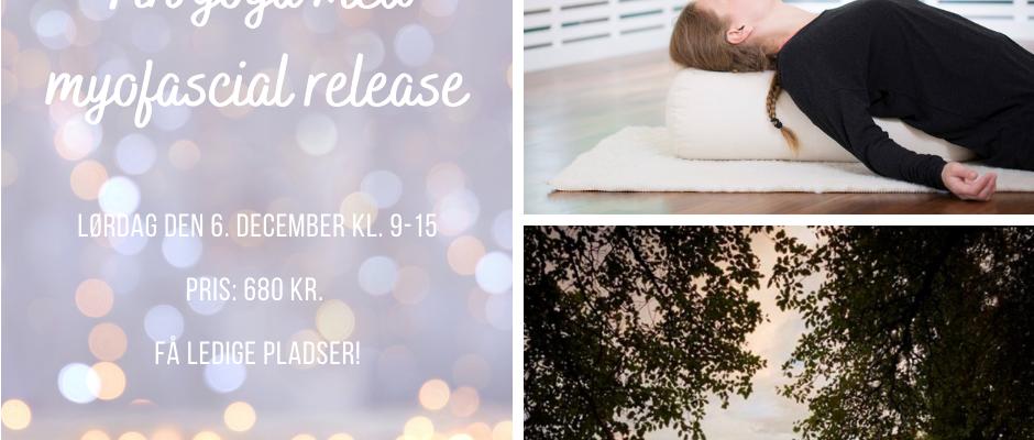 Juleworkshop i yin yoga med myofascial release