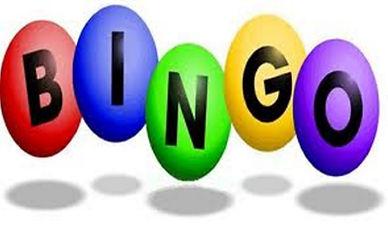 """Bingo balls spelling """"bingo."""""""