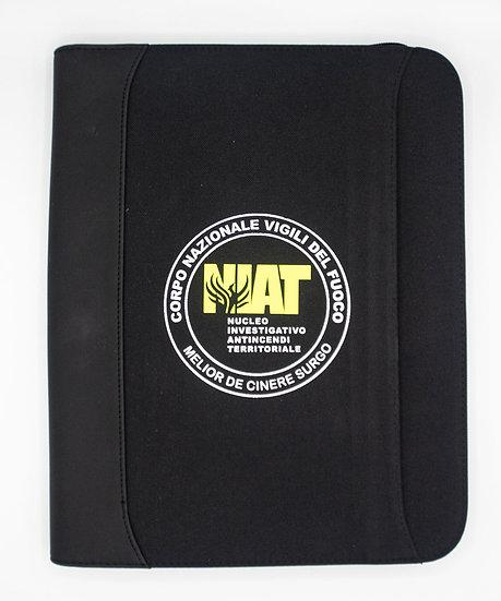 Cartellina NIAT. con zip