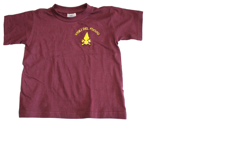T-Shirt Fiamma bambino