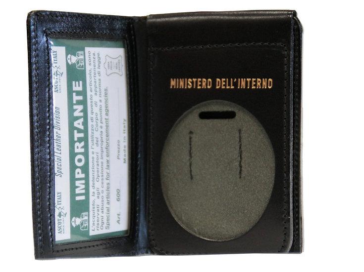 Portafoglio per Placca Ministeriale
