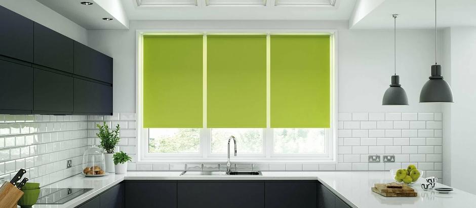 Рулонные шторы. Защита от солнца и уют в доме