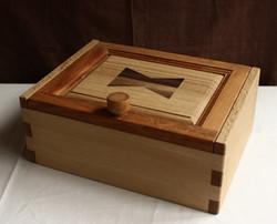 寄木の小箱