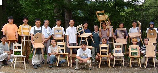 木工セミナー集合写真
