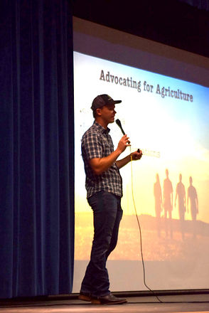 Greg Peterson Advocating for Agriculture