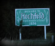 South Hochfeld sign along Hwy K-15 | Goessel Museum
