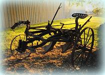 Two bottom plow | Goessel Museum