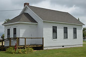 South Bloomfield one-room school | Goessell Museum | Mennonite Museum