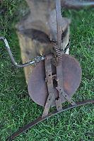 Back side of horse fiddle | Goessel Museum
