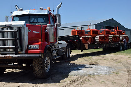 Ariving in style   2018 Country Threshing Days