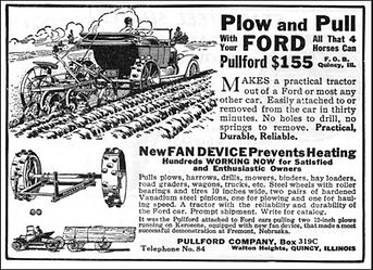 Ad for Model T tractor | Goessel Museum