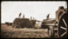 Threshing wheat in KS | Goessel Museum