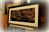 Framed print of THRESHER by Franz Jantzen | Goessel Musuem