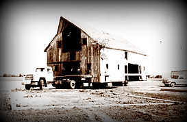 Schroeder Barn moving day | Goessel Museum