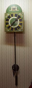 Russian Wall Clock| Goessel Museum