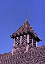 Cupola on Schroeder Barn/Goessel Museum
