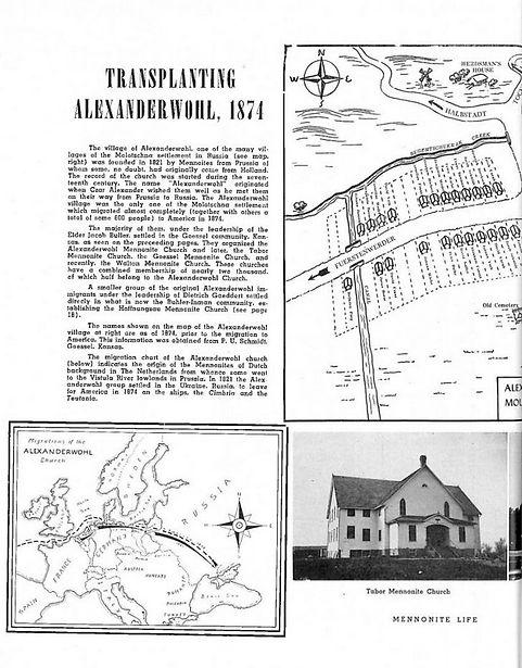 Mennonite Life Anniversary Oct. 1949 issue