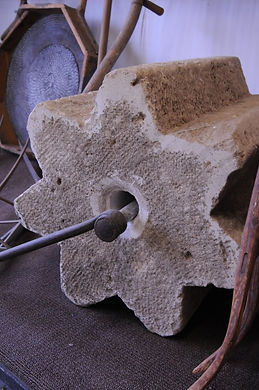 Threshing Stone | Goessel Museim