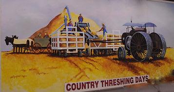 Country Threshing Days mural | Goessel Museum